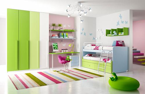 Dhoma e femijeve dhe rregulli